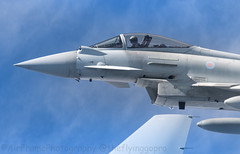 What are you looking at.....? (Air Frame Photography) Tags: raf flying typoon fighter jets plane brize norton north sea photography airtoair farmoor airtanker hose pilot