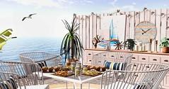 Seaside - The most i like (desiredarkrose) Tags: kalopsia kalopsiasl fancydecor tarte ariskea seaside food interior slblog sldecor slinterior slblogger home homedecor slhome sloutdoor outdoor