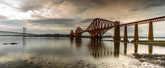The Forth Bridge (kevaruka) Tags: forthbridge railway firthofforth scotland evening kevinfrost scenic sea estuary water bridge rail colour colours wideangle uwa clouds cloudy cloudyday cloud summer july 2019 26072019 canon canoneos5dmk3 canon5dmk3 canonef24105f4l 5d3 5diii 5d 5dmk3 flickr frontpage thephotographyblog composition