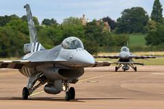 Begium F-16 D-Day Jets (baclightning1) Tags: dday 75thanniversaryofdday belgiumf16 f16amfa124 f16afa57 350squadron 349squadron riat 2019 baclightning1 belgianaircomponent