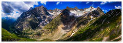 A Grand View (Augmented Reality Images (Getty Contributor)) Tags: nisifilters alpine alps bluesky canon clouds europe glacier grandcoldeferret ice italy landscape montblancmassif moraine mountains rock snow summer trees valledaosta valley vanguard water waterfall