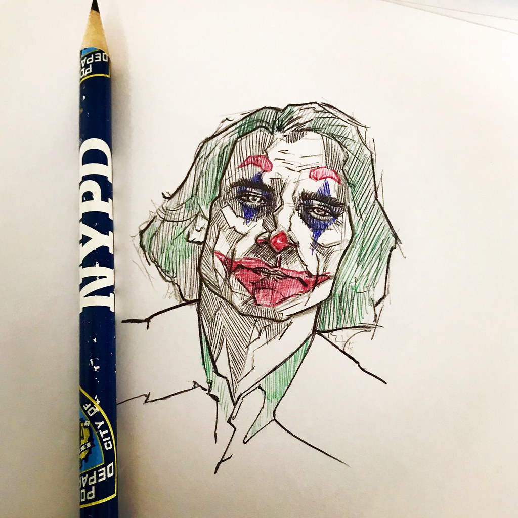 The World S Most Recently Posted Photos Of Drawing And Joker