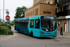 Arriva Southern Counties, 3790 - MX61AWO (James Excell's Bus and Coach Photos) Tags: arrivakentthameside t259thehomecountiesnorth vdlsb200 wrightbuspulsar2 sapphire100101 exarrivamerseyside3081 exarrivatheshires3760