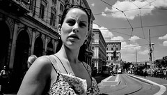 She needs me now but I can't seem to find the time... (Baz 120) Tags: candid candidstreet candidportrait city contrast street streetphotography streetphoto streetcandid streetportrait strangers rome roma ricohgrii europe women monochrome monotone mono noiretblanc bw blackandwhite urban life portrait people provoke italy italia grittystreetphotography faces decisivemoment