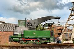 Dubsey at Dilhorne (Kingmoor Klickr) Tags: gordonedgar dubs cranetank 4101 foxfield heritage industrial railway colliery dilhorne staffordshire dübs