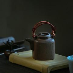 """Yixing """"Si Fang Yang Tong"""" Teapot Capacity around 120CC Made from """"Zi Ni"""" for China Gongfu Tea (John@Kingtea) Tags: yixing sifangyangtong teapot capacity around 120cc made from zini for china gongfu tea"""