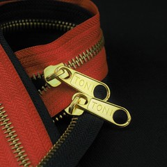 M 56LP Toni Golden Slider! (tonizippers) Tags: sliders slider toni tonizippers tonislider tonisliders manufacturers manufacturer manufacturing metal zippers zip zipper zipfasteners zipperfasteners fasteners m 56lp golden