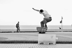 Skateboarding has taught me two things - that symbolise a meaning of life. How to keep a balance and how to pick yourself up when you've fallen - Nikki Rowe (Jason Khoo Photography) Tags: life motion sport 50mm nikon flickr skateboarding action pov culture streetphotography nikkor bnw dov blackandwhitephotography justphotos streetpics standardlens outdoorphotography unlimitedphotos fun brighton ngc digitalphotography amateurphotography balance sportsphotography actionphotography