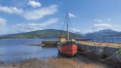 Loch Fyne (jimsumo999) Tags: inverary boat loch fyne argyll scotland pier