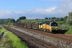 70814 Settle Junction 24/5/19 (Ram 69) Tags: 70814 logs 6j37 settlejunction sc settletocarlislerailway class70