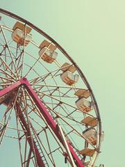 At the Fair (~Roxanne~) Tags: ferriswheel summertime
