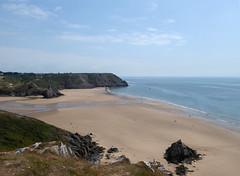 Three Cliffs Bay (davidmcnuh) Tags: wales swansea gower beach coast sand sea threecliffs threecliffsbay bay