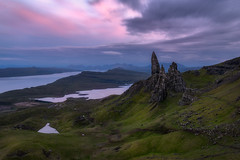 Stories (Sinclair's) Tags: old man storr isle sky sunset scotland landscape loch summer long exposure