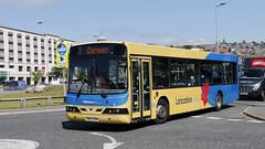 Transdev Lancashire United 1100 PN02 HVW (aptyldsley) Tags: volvo volvob10ble b10ble wrightbus wright renown blackburn transdev