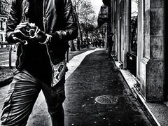 StreetPrayer.jpg (Klaus Ressmann) Tags: klaus ressmann omd em1 african fparis france peoplestreet spring blackandwhite candid flcpeop man prayer streetphotography unposed klausressmann omdem1