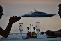 Essig und Öl (flori schilcher) Tags: schilcher rovinj kroatien adria abend wasser meer sonnenuntergang sundowner istrien