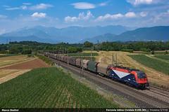 FUC E190.301 (Marco Stellini) Tags: fuc ferrovia udine cividale e190 taurus 1216 es64u4 siemens tarvisio pontebbana friuli