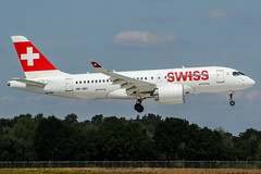 HB-JBH (PlanePixNase) Tags: hannover aircraft airport planespotting haj eddv langenhagen swiss airbus a220 a220100 cseries cs100