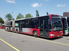 NLD Qbuzz 3054 ● Groningen Peizerweg (Roderik-D) Tags: 3054 qbuzz30503077 bxfx28 zomerbroezzn 2009 dieselbus euro5 mercedesbenz citaro2 o530g capacity45961 savas bege geledebus articulatedbus gelenkbus stadsbus citybus stadtbus 3axle 3doors ivu gorba
