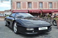 Ferrari 355 Spider 1996 (Monde-Auto Passion Photos) Tags: voiture vehicule auto automobile ferrari f355 spider cabriolet convertible roadster sportive rare rareté noir black vente enchère osenat france fontainebleau