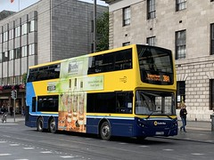 Double Decker Bus - O'Connell Street - Dublin, Ireland (firehouse.ie) Tags: ireland dublin bus transport eire vehicles transportation transit vehicle publictransport busses doubledecker dublinbus doubledeck o'connnellstreet vehicule vehicules psv volvo volvos volvobus city cities 38a