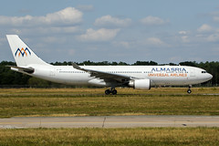 SU-TCH (PlanePixNase) Tags: hannover aircraft airport planespotting haj eddv langenhagen almasria airbus 330 330200 a332