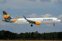 D-ATCE (PlanePixNase) Tags: hannover aircraft airport planespotting haj eddv langenhagen condor airbus 321 a321