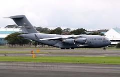 C17  30604 (TF102A) Tags: aviation aircraft airplane usaf usairforce prestwick prestwickairport c17 30604 930604 wrightpattersonafb