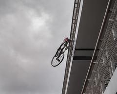 Alternative bike parking! (Tyrelli) Tags: amsterdam amsterdamcentral bike parking cloudy
