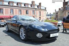 Aston Martin DB7 Vantage 2000 (Monde-Auto Passion Photos) Tags: voiture vehicule auto automobile astonmartin aston martin db7 vantage coupé noir black sportive rare rareté vente enchère osenat france fontainebleau
