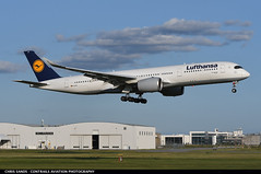 Lufthansa A359 DAIXG (Sandsman83) Tags: airplane plane aircraft montreal cyul yul lufthansa airbus landing a350 staralliance daixg