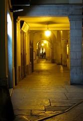 i portici (ermyale) Tags: portici dinotte domodossola piazzamercato seredestate