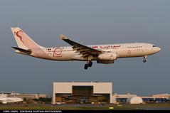 Tunisair A332 TSIFN (Sandsman83) Tags: airplane plane aircraft montreal cyul yul tunisair airbus a330 tsifn landing