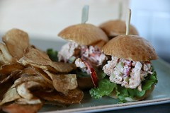 fullsizeoutput_2e9e3 (Bites N Sites) Tags: jekyll island georgia coast food lobster sliders kettle chips eighty ocean kitchen bar club