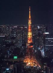 Japan - Tokyo (SergioQ79 - Osanpo Photographer -) Tags: japan tokyo tower roppongi night light asia ferrywheel nikon d7200