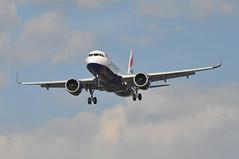 BA0665 LCA-LHR (A380spotter) Tags: approach arrival landing finals shortfinals threshold belly airbus a320 200n a320neo™ newengineoption cfminternational cfmi leap leap1a leap1a26 turbofan engine powerplant sharklets™ sharklets sharklet™ sharklet wingtipdevices wingtipdevice winglets winglet gttnh internationalconsolidatedairlinesgroupsa iag britishairways baw ba ba0665 lcalhr runway27r 27r london heathrow egll lhr