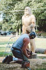 Union County GA (LumixLab) Tags: sculpture sasquach man chainsaw art blairsvillega bigfoot