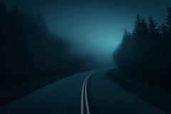 Follow the Light (johanhakanssonphotography) Tags: blueridgeparkway fog mist blueridgemountains travel mood eerie evening light northcarolina westernnorthcarolina southernappalachians johanhakanssonphotography nikon scenic