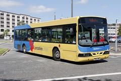 Transdev Lancashire United 1101 PN02 HWA (aptyldsley) Tags: volvo volvob10ble wrightbus wright renown blackburn transdev