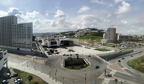 Avenue d'Espagne and Tanger-Ville railway station