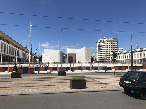 Grand Théâtre de Casablanca under construction