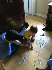 "Davy Does a Puzzle with Paul • <a style=""font-size:0.8em;"" href=""http://www.flickr.com/photos/109120354@N07/48388456631/"" target=""_blank"">View on Flickr</a>"