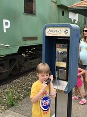 "Paul Makes a Call at Safety Town • <a style=""font-size:0.8em;"" href=""http://www.flickr.com/photos/109120354@N07/48388479706/"" target=""_blank"">View on Flickr</a>"