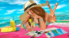 Here I have peace ! (Silvia Galtier) Tags: silviagaltier sl secondlife summer noor nazar focusposes bento blog beach alananazareowyn