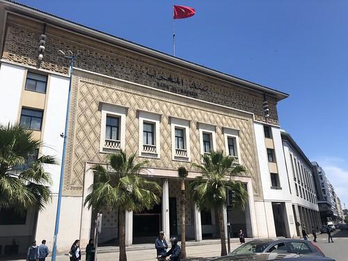 Bank Al-Maghrib, Casablanca