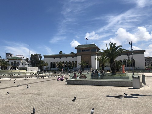 Palace of Justice, Mohammed V Square, Casablanca