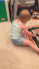 """Dani Plays with Trains • <a style=""""font-size:0.8em;"""" href=""""http://www.flickr.com/photos/109120354@N07/48388572201/"""" target=""""_blank"""">View on Flickr</a>"""
