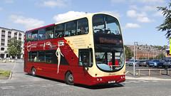 Transdev Lancashire United 100 R100TDV (aptyldsley) Tags: volvo volvob7tl wrightbus wrightgemini blackburn transdev transdevlancashireunited