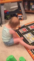 """Dani Plays with Trains • <a style=""""font-size:0.8em;"""" href=""""http://www.flickr.com/photos/109120354@N07/48388710537/"""" target=""""_blank"""">View on Flickr</a>"""