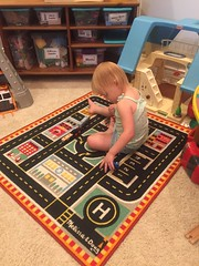"""Dani Plays with Trains • <a style=""""font-size:0.8em;"""" href=""""http://www.flickr.com/photos/109120354@N07/48388711957/"""" target=""""_blank"""">View on Flickr</a>"""